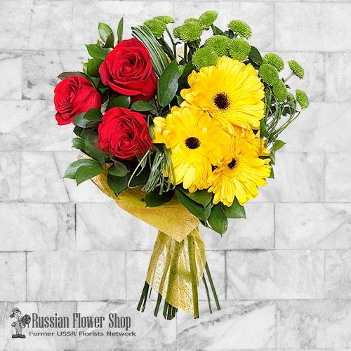Russie bouquet de fleurs #36