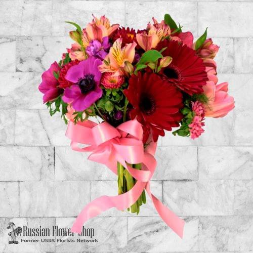Ramo de flores de Kazajstán #9
