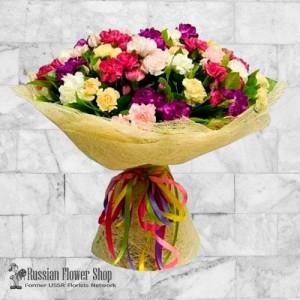 Kazakhstan bouquet de fleurs #11