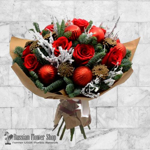 Kazakhstan Christmas Bouquet #2