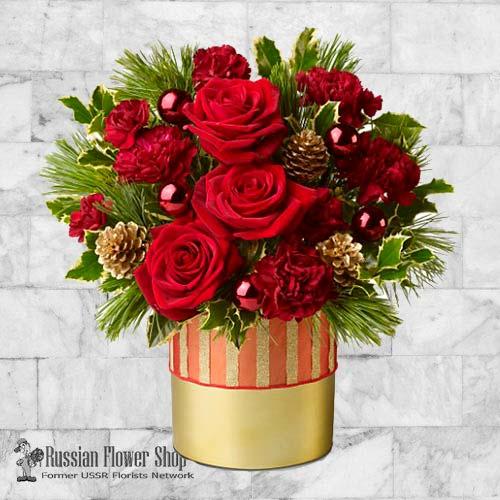 Kazakhstan Christmas Bouquet #5