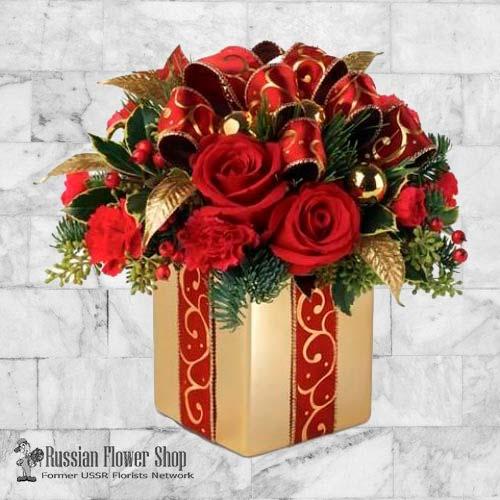 Kazakhstan Christmas Bouquet #6