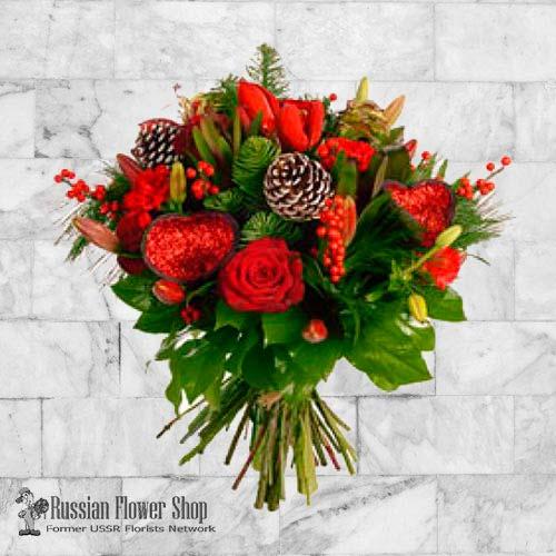 Kazakhstan Christmas Bouquet #7