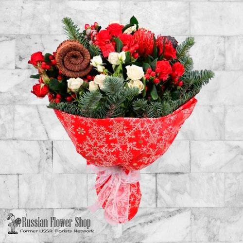 Kazakhstan Christmas Bouquet #8