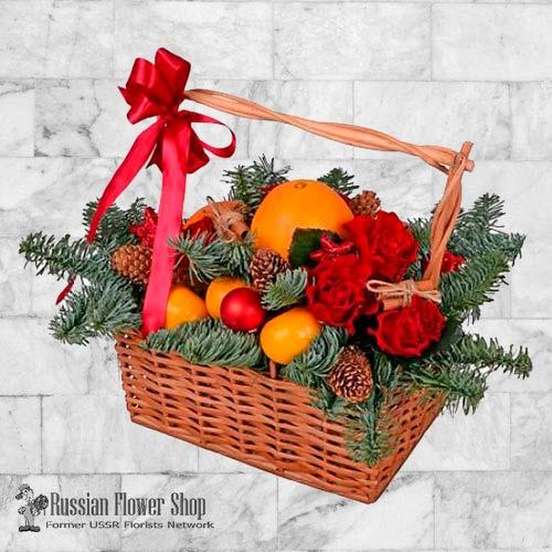 Kazakhstan christmas gift basket #3