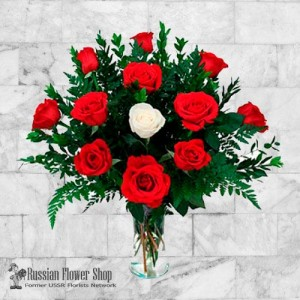 Russia Roses Bouquet #12