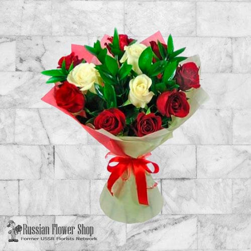 Russia Roses Bouquet #13