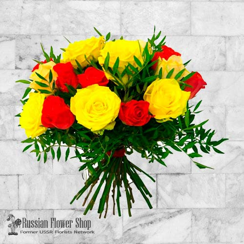 Ukraine Roses Bouquet #14