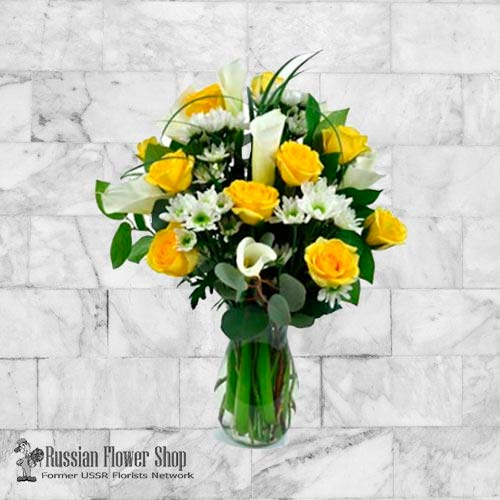 Kazakhstan Roses Bouquet #15