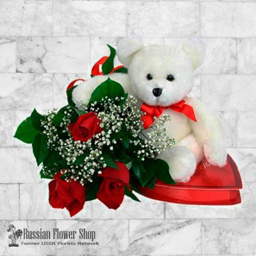 Kazakhstan Roses Bouquet #16