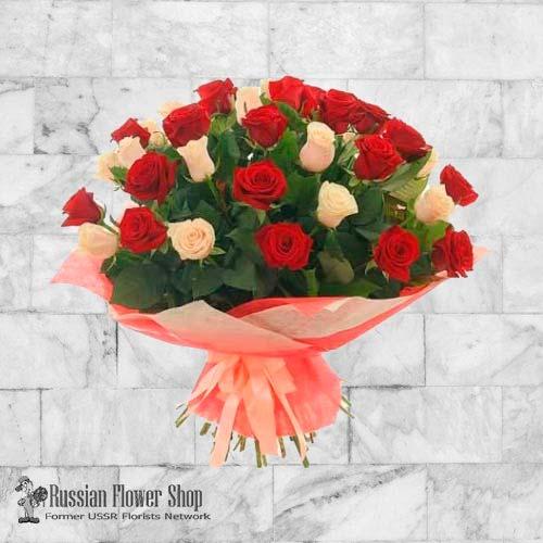 Kazakhstan Roses Bouquet #18