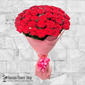 Russia Roses Bouquet #19