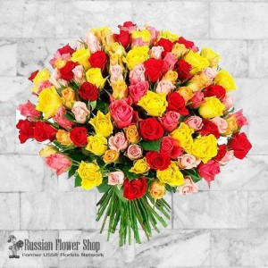 Russia Roses Bouquet #20