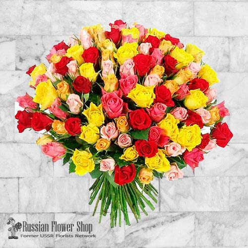Ukraine Roses Bouquet #20
