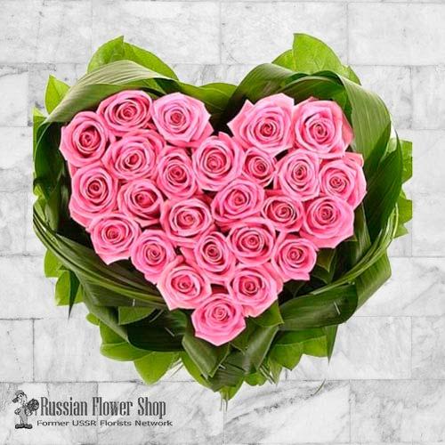 Kazakhstan Roses Bouquet #21