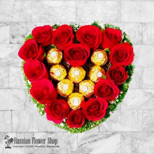 Kazakhstan Roses Bouquet #23