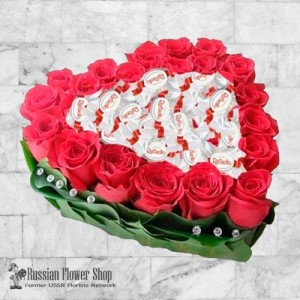 Russia Roses Bouquet #24