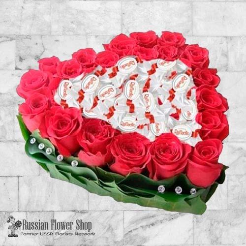 Kazakhstan Roses Bouquet #24