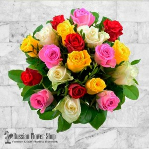 Russia Roses Bouquet #25