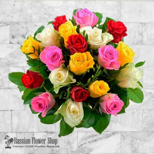 Kazakhstan Roses Bouquet #25