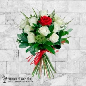 Russia Roses Bouquet #26