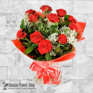 Russia Roses Bouquet #28