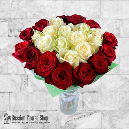 Russia Roses Bouquet #34