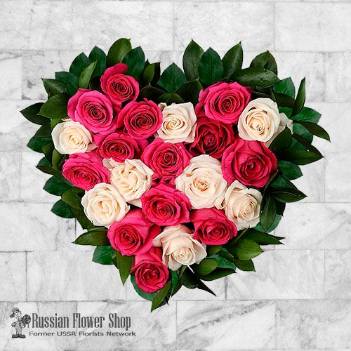 Russia Roses Bouquet #22