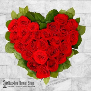 Russia Roses Bouquet #23