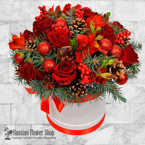 Ucrania Bouquet de Navidad #4