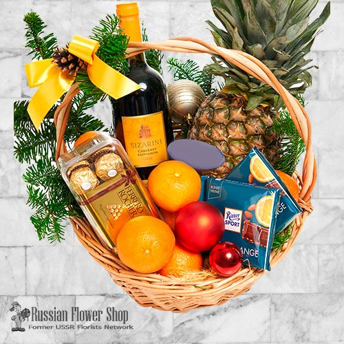 Moldova Christmas Bouquet #5