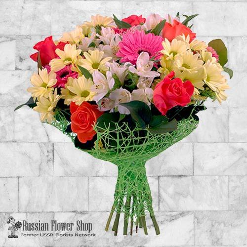 Ucrania ramo de flores #24