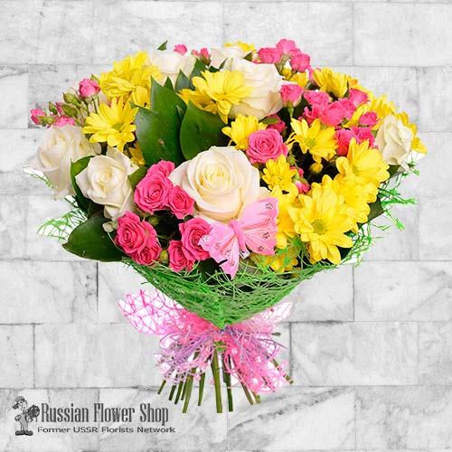 Ucrania ramo de flores #25